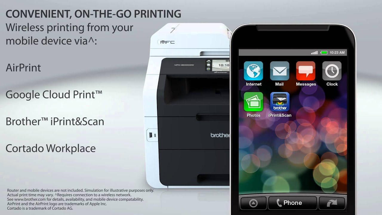 Print on documents that are A3 size with this Brother A3 Inkjet Multifunction.