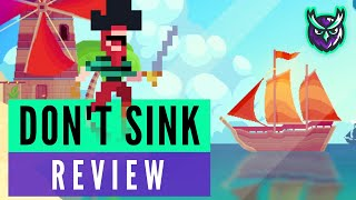 Don't Sink Switch Review (Pixel Pirate Adventure!)