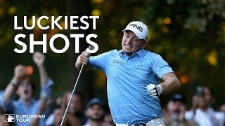Luckiest Golf Shots Ever