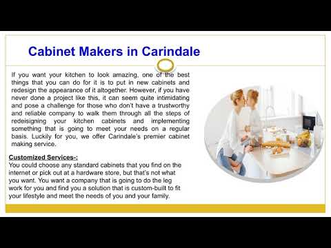 #1 Carindale Kitchen Renovations | Cabinet Makers in Carindale