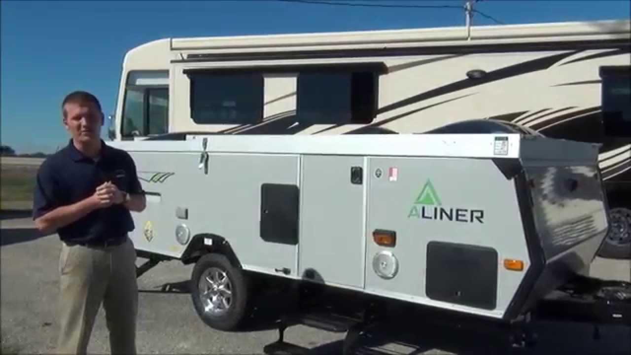 Brand New 2014 Aliner Expedition Folding Tent Camper Pop