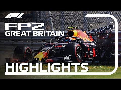 2020 British Grand Prix: FP2 Highlights
