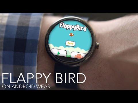 La nuova versione di Flappy birds per Android wear