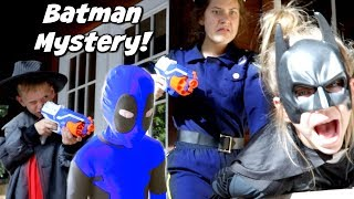 Batman Mystery! Detective Donut Solves the Batman Mystery! Hope and Noah SHK Comic