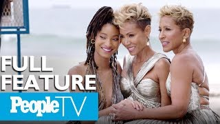 Jada Pinkett Smith, Willow Smith & Adrienne Banfield Norris On Show 'Red Table Talk' | PeopleTV