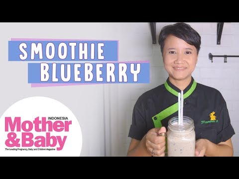 Resep Ibu Hamil - Smoothie Blueberry