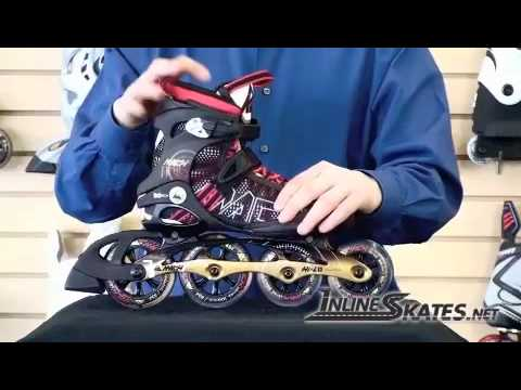 Inline Skates k2 Moto 100 k2 Mach 100 Mens Inline Skates