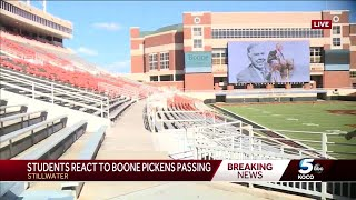 Community reacts to death of Boone Pickens