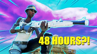 I Played One Shot for 48 HOURS! (Fortnite Battle Royale)