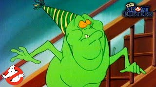 Slimer, Come Home! | The Real Ghostbusters Ep 4 | Animated Series | GHOSTBUSTERS