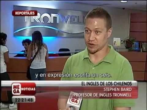 Meganoticias: El Inglés de los Chilenos Parte 2