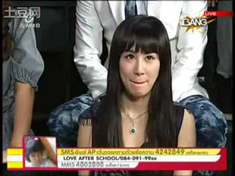 20100318 Channel V Thailand - Zhang Li Yin cut