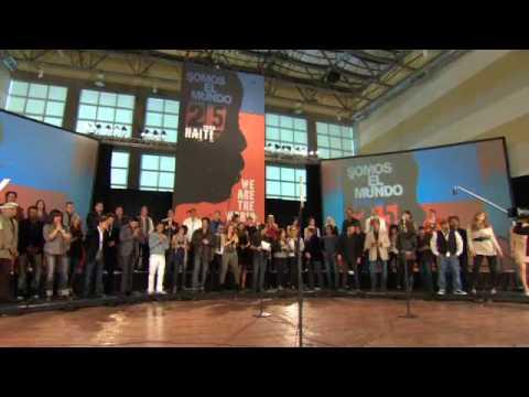 Somos el Mundo 25 por Haiti en español (Official Video)