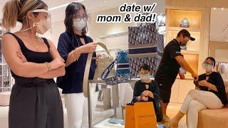 VLOG • LV Date *treating mommy, Bag Haul & Kimchi Rice 🥰🛍   Ry Velasco