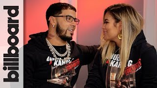 Anuel AA & Karol G Discuss Touring Together, Their First Kiss On Stage & More | Billboard