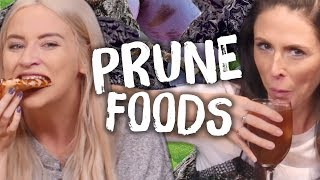 6 Weird PRUNE Food Creations (Cheat Day)