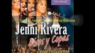 Por Un Amor,Cucurrucucu Paloma En Vivo Jenni Rivera