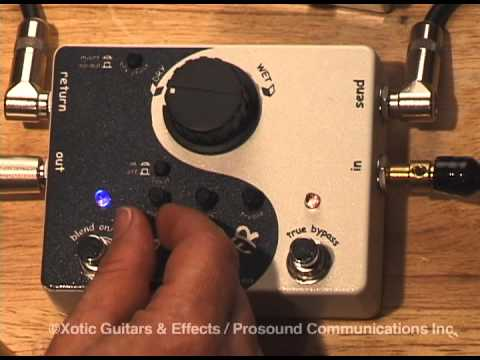 Xotic X-Blender True Bypass Effects Loop Pedal