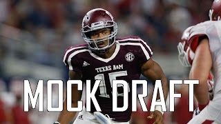 2017 NFL Mock Draft 9.0 - FINAL First Round Mock Draft