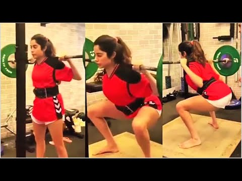 Jhanvi Kapoor various gym workout sessions will motivate you