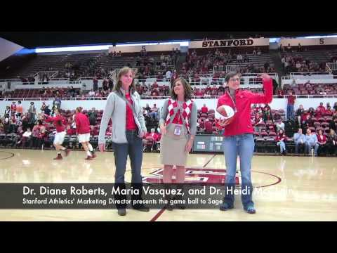 Sage Centers Sponsors Stanford Women's Basketball Game 2/24/13