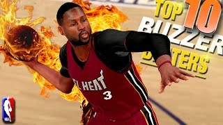 NBA 2K16 TOP 10 BUZZER BEATERS & Game Winning Shots #4