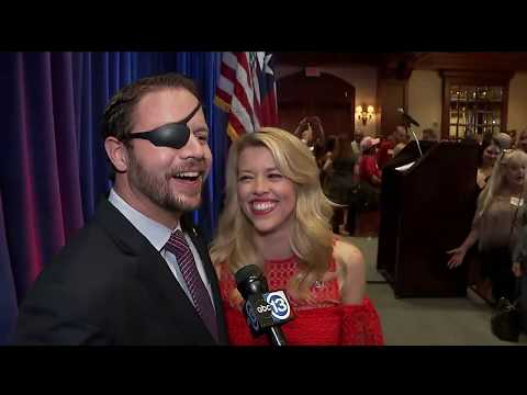 Dan Crenshaw reacts to winning congressional race
