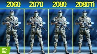 RTX 2060 vs RTX 2070 vs RTX 2080 vs RTX 2080 Ti Battlefield 5   RTX ON   ULTRA SETTINGS   1440p