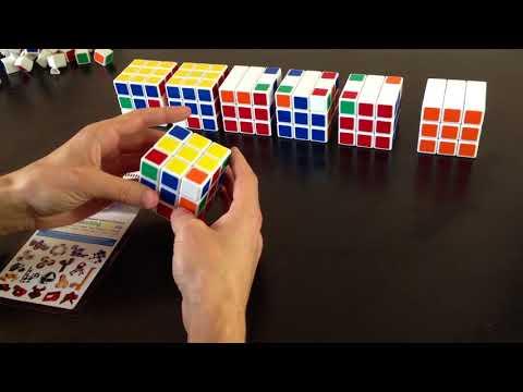 Простые схемы сборки кубика рубика в картинках для начинающих