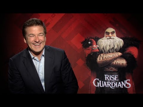 Alec Baldwin Interview for RISE OF THE GUARDIANS - YouTube