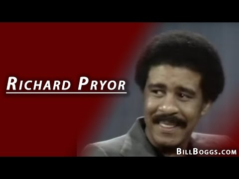 Richard Pryor Interview with Bill Boggs | When people start talking to each other they find out who's the problem...