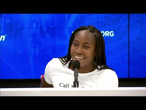 """Coco Gauff: """"Everything's still a blur!"""" 
