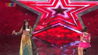 [Vietnam's got talent] Hát và vẽ - Mẹ con Đặng Thị Thanh & Nhật Hảo