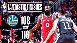 Battle In Crunch Time: The Rockets vs The Warriors