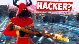 He Thought I was HACKING because of this RARE GUN in Fortnite Save The World