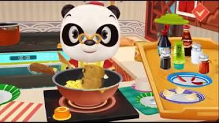 Con gà trống - hát cùng gấu panda - panda restaurant game