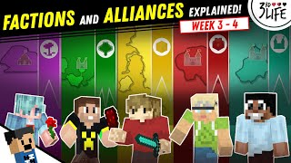 3rd Life SMP: The Alliances and Factions Explained | WEEK 3 - 4