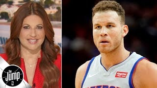 Blake Griffin needs to stop being nice to the Clippers and own the petty - Rachel Nichols | The Jump
