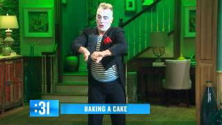 Slime the Mime with Howie Mandel on The Meredith Vieira Show - 12 Sep 2014