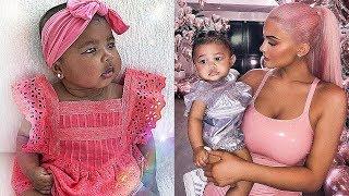 Khloe Kardashian's Daughter Vs Kylie Jenner's Daughter ★ 2018