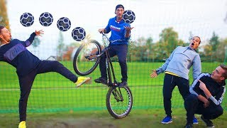 FOOTBALL VS VTT TRIAL (feat AURELIEN FONTENOY)