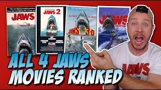All Four Jaws Movies Ranked!