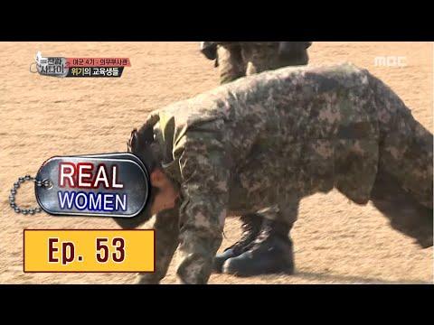 [Real men] 진짜 사나이 - Female soldier falling 20160306