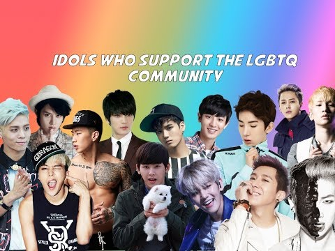 MALE KPOP IDOLS WHO SUPPORT THE LGBTQ+ COMMUNITY (JONGHYUN, GD, RM, HEECHUL)