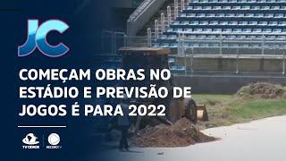 Presidente Vargas: Começam obras no estádio e previsão de jogos é para 2022