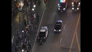 3/9/17: Car Chase Hollywood Boulevard - Unedited
