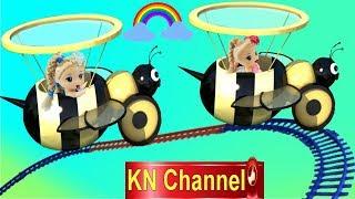 BÚP BÊ LẦN ĐẦU ĐI TÀU LỬA KN Channel cùng Bé Na tập 2