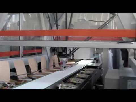 IRBS - Celda robotizada de empaque de barras de cereal
