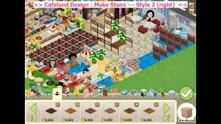Cafeland Design: Make Stairs---Style 2 (right)