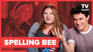 Gavin Leatherwood Competes in a 'Sabrina' Spelling Bee